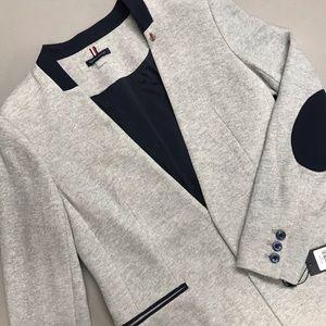 Tommy Hilfiger Blazer Jacket Suit Coat Gray Blue